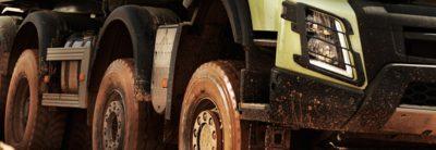 Volvo FMX wheels construction
