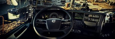 ระบบที่ให้บริการของ Volvo FMX