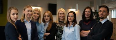 Rekryteringsteamet vid Volvokoncernen i Polen