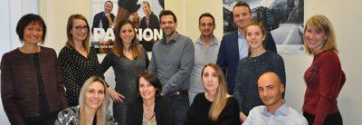 Recruiters van de Volvo Group