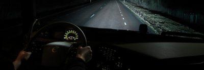 Volvo FH safety night-mode