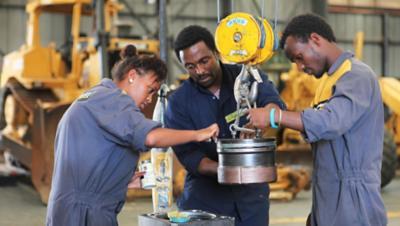 아프리카의 직업 훈련소