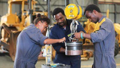 Escuelas de capacitación en África