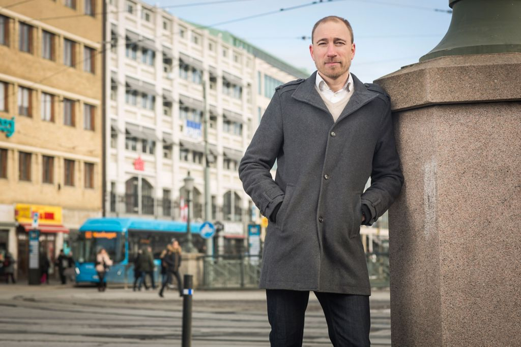 Tomas Forsberg, Safety Manager at Volvo Buses