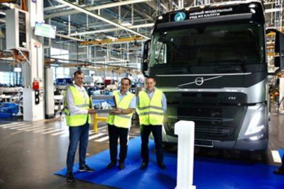 Калужский завод Volvo выпустил первые грузовые автомобили нового модельного ряда