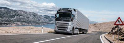 Proefrit maken met de nieuwe Volvo FH I-Save?