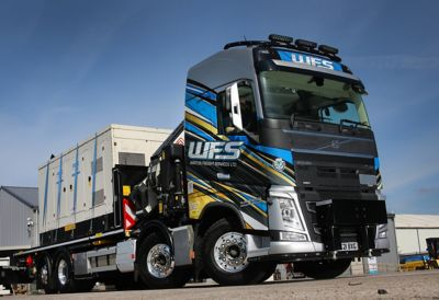 Warton Freight Services has added a Volvo FH rigid to its fleet to celebrate 30 years in the haulage industry.
