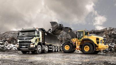 Volvo FMX five axles loader truck