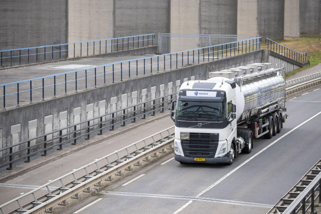 GEODIS RT Netherlands gaat voor groen tanktransport met Volvo LNG