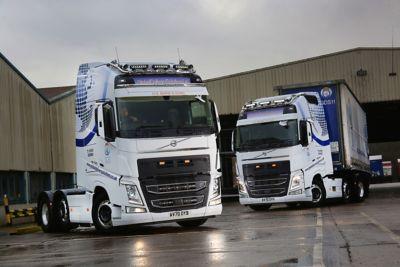 Global Delivery Solutions has added two new high-spec Volvo FH with I-Save Unlimited Edition trucks to its growing fleet