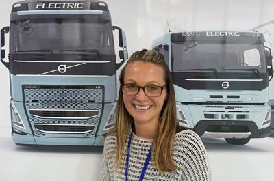 Amy Stokes, Head of e-Mobility, Volvo Trucks UK & Ireland.