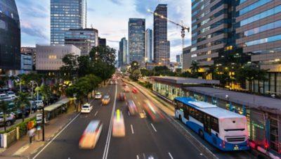 Less congestion, shorter travel time
