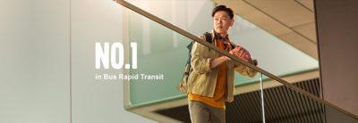 Autobus de transit rapide Volvo