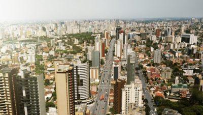 Volvo BRT-rendszer Curitiba városában