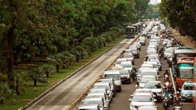 Volvo BRT-rendszer Jakarta városában