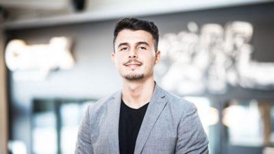 Blerand Bahtiri - UX designer at Volvo Group