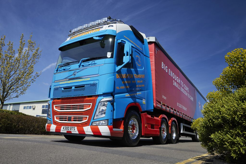First new Volvo in a decade for Broughton Transport