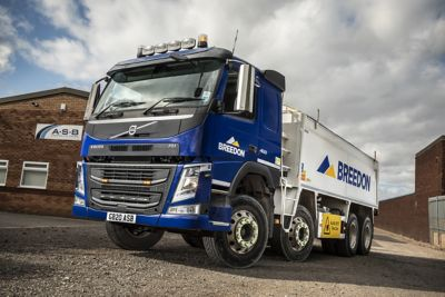 ASB Transport has taken delivery of two new Volvo FM 8x4 tippers