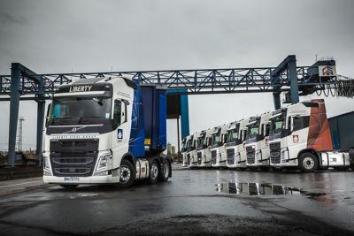 Simec Transport has put a new Volvo FH 500 into service