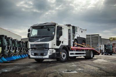 Aebi Schmidt UK has put a new Volvo FE 4x2 rigid into operation