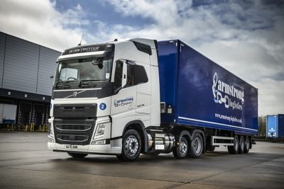 Armstrong Logistics has taken delivery of five new Volvo FH LNG (liquified natural gas) trucks