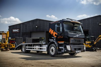 WHC Hire Services has added two new Volvo FE trucks to its fleet.