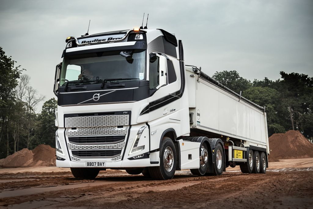 New Volvo FH makes an instant impression at Bayliss Bros