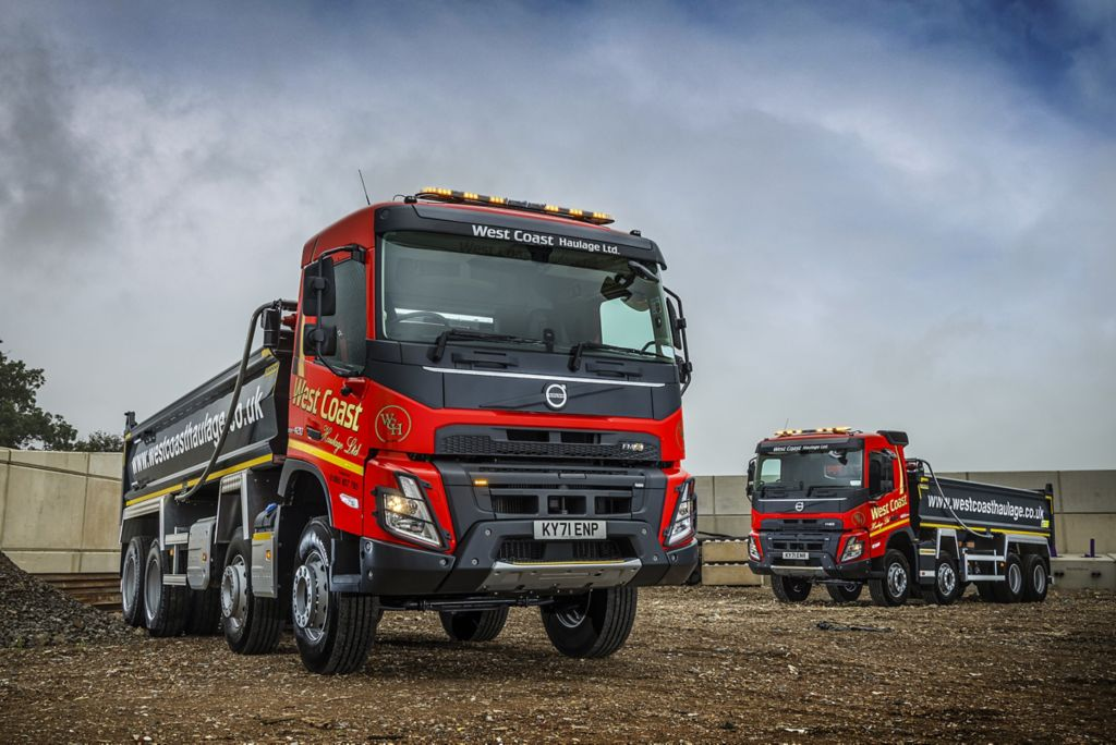West Coast Haulage makes a smart move with 60 new Volvo tippers