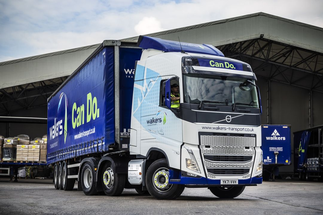 Three new Volvos deliver the goods for Walkers Transport