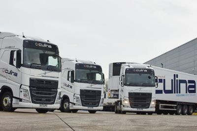 Culina Group has put 134 new Volvo FH 6x2 tractor units into service