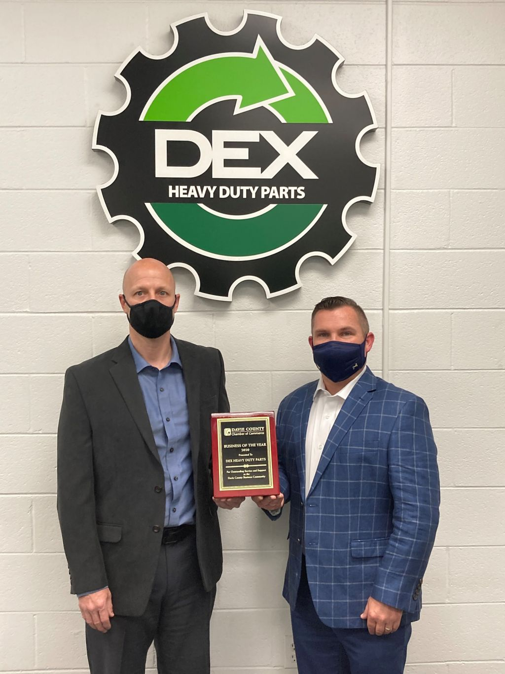 DEX Wins 2020 Business of the Year Award from the Davie County Chamber of Commerce