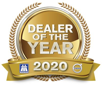 Thomas Hardie Commercials Dealer of the Year 2020