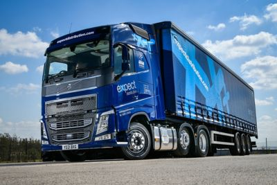 Expect Distribution has added six new Volvo FH trucks to its busy fleet