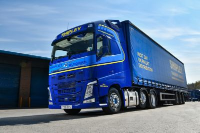 Shipley Transport Services has extended its relationship with Volvo Trucks after taking delivery of four new Volvo FH with I-Save tractor units.