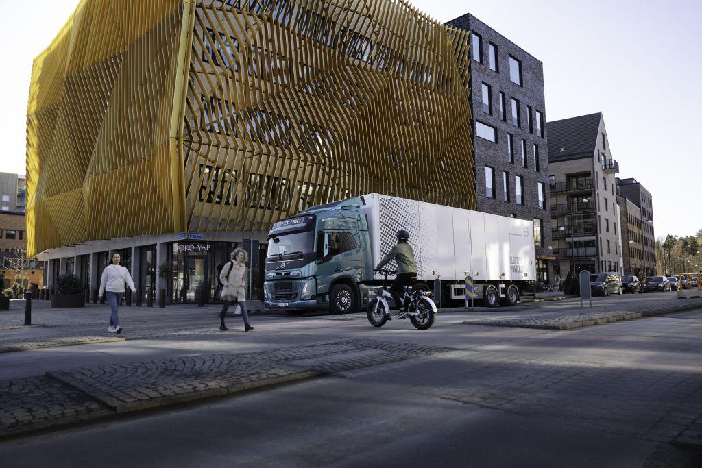 Volvo Trucks incorpora avisos sonoros exclusivos a sus camiones eléctricos