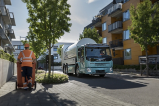 The Volvo FL and FE Electric trucks offer huge potential for urban planning, as they can be used in indoor loading areas and environmental zones.