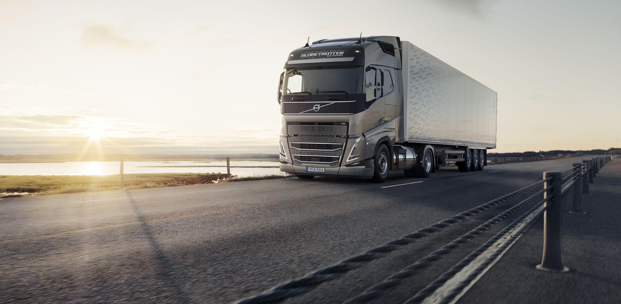 Volvo Trucks oplever en øget interesse for gas som alternativ til diesel til tunge lastbiler i Europa