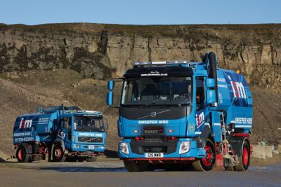 Bury-based ISM Waste has taken delivery of a new Volvo FL road sweeper to replace an FL6 which has been in service with the family firm since 2003.
