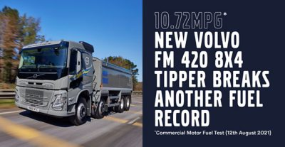 Commercial Motor Fuel Test..new Volvo FM 420 8x4 - 10.72mpg