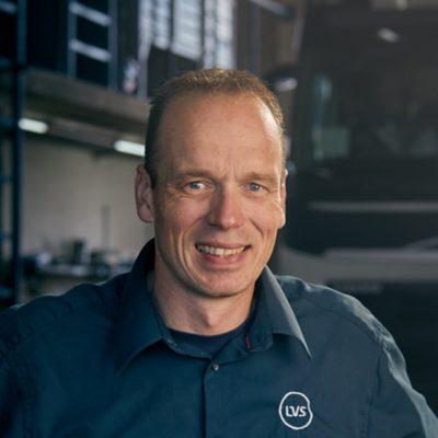 Werkplaats LVS Trucks Leeuwarden