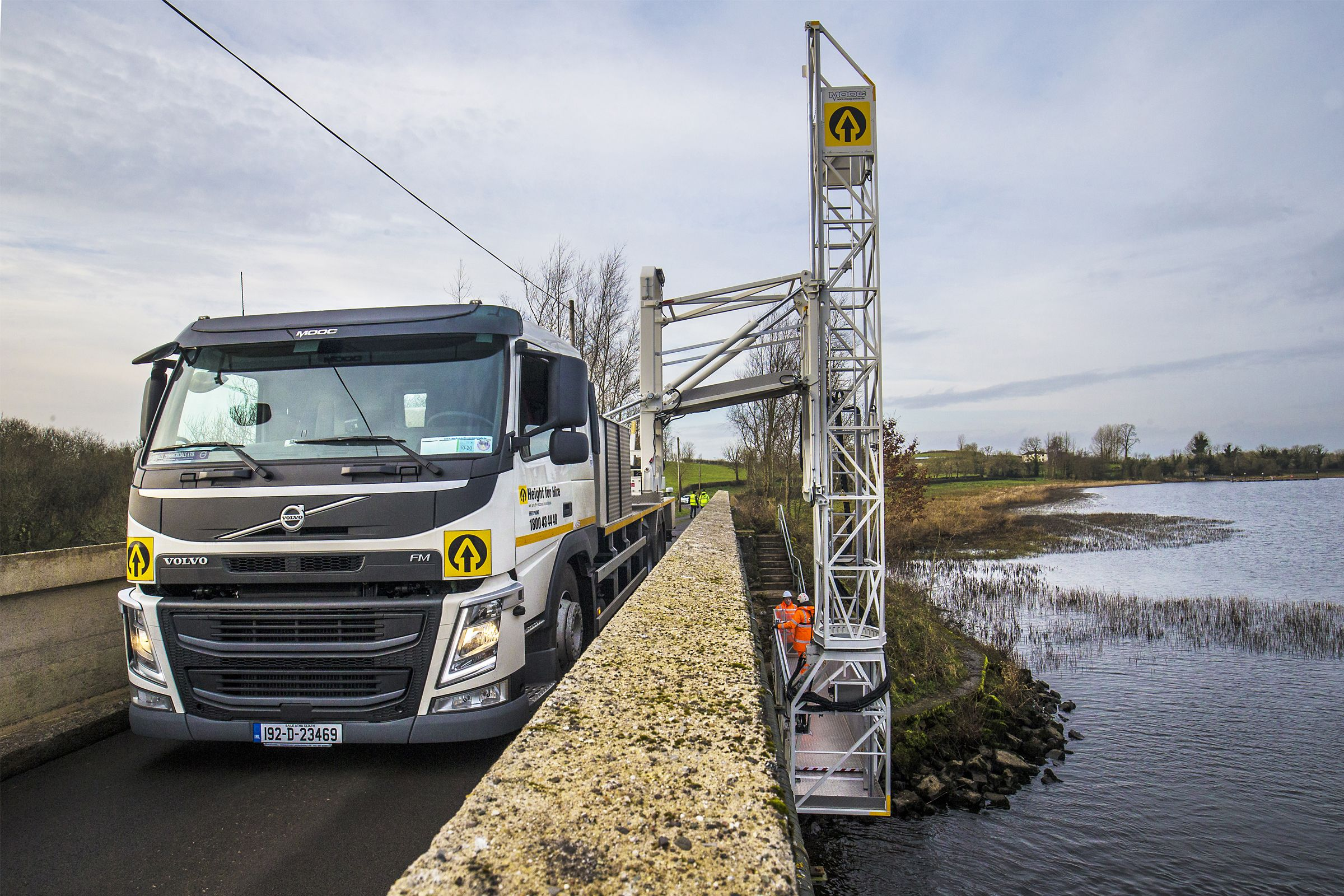 Volvo FM is the perfect fit for Height for Hire's underbridge unit