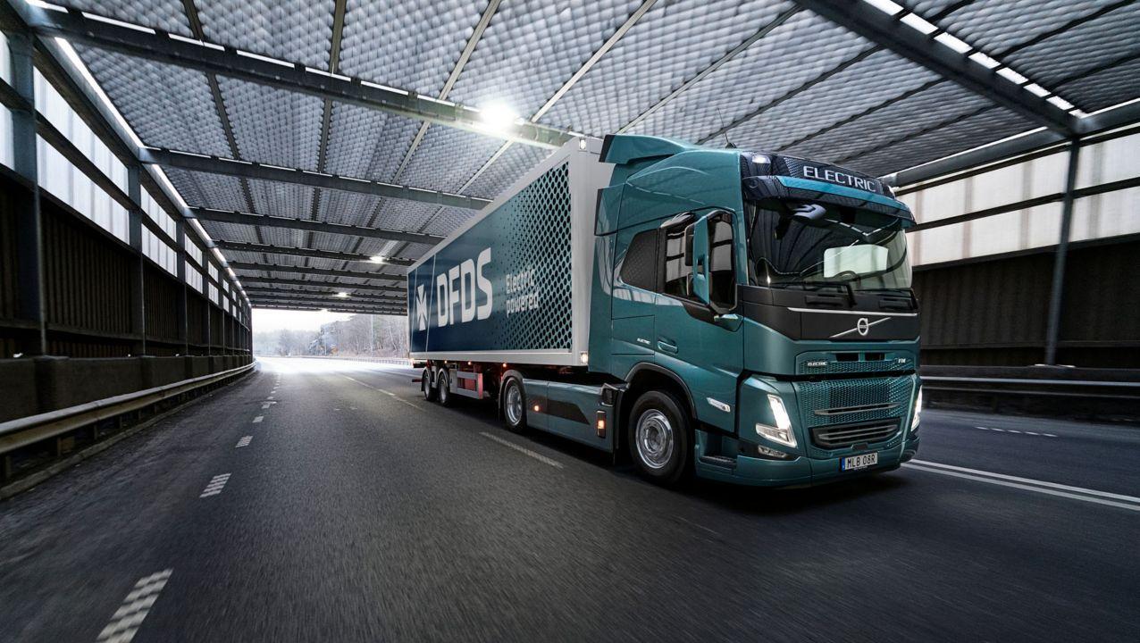 Volvo recebe pedido de recorde de caminhões elétricos na Europa