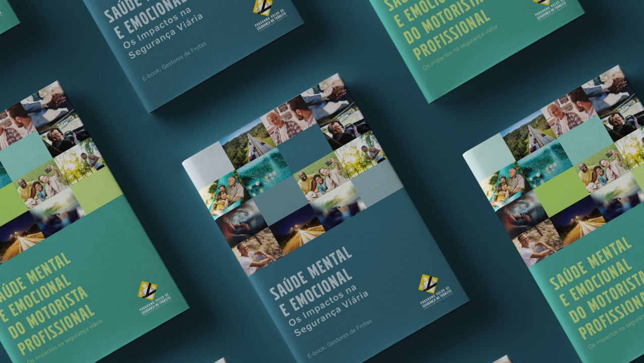 Volvo lança e-books sobre saúde mental para motoristas e gestores de frotas