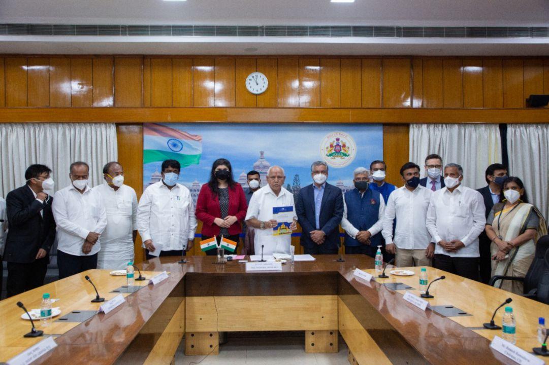 Hon'ble CM Shri B S Yediyurappa inaugurates 56-bed ICU