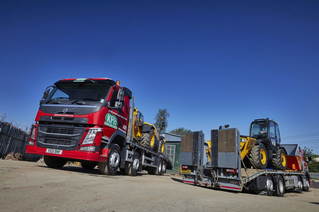 KPH Plant Hire upgrades with 32-tonne Volvo FM