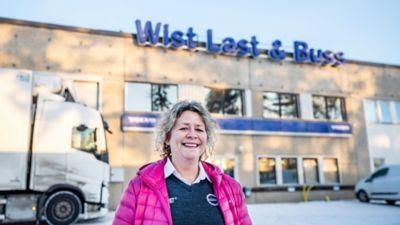 Kari Lenvik Althin, verksamhetsutvecklare hos Wist Last & Buss.
