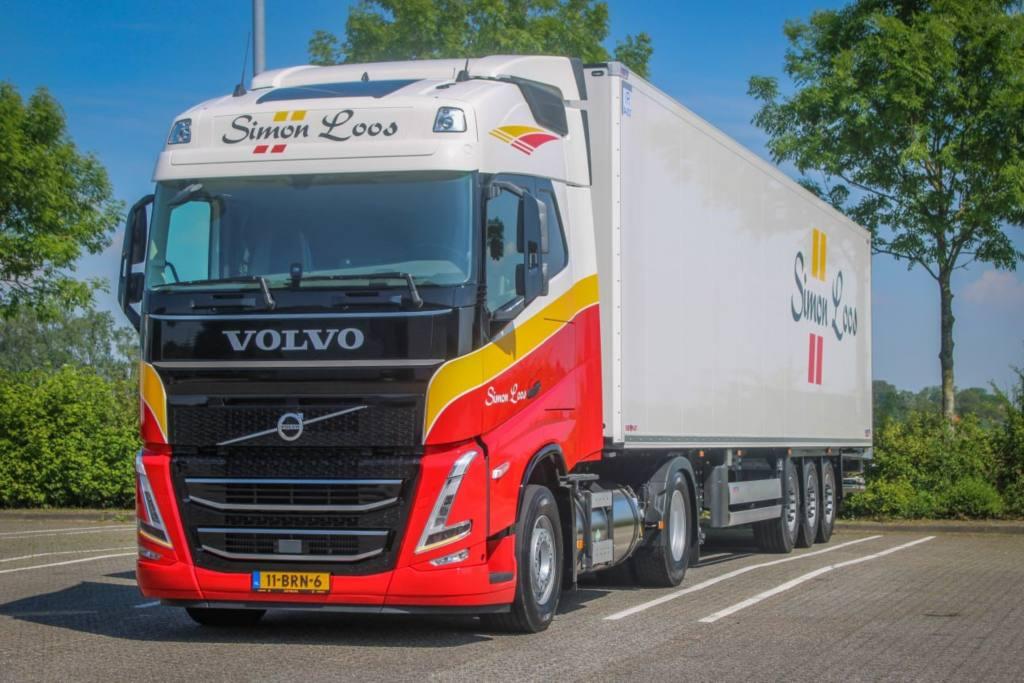 Simon Loos gaat voor CO2-reductie met Volvo trekkers op LNG van LVS Trucks