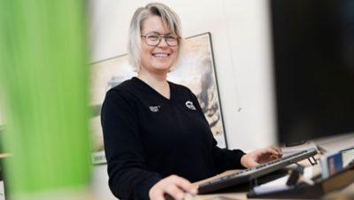 Lillemor Lindberg - Teamledare Reservdelar i Skellefteå
