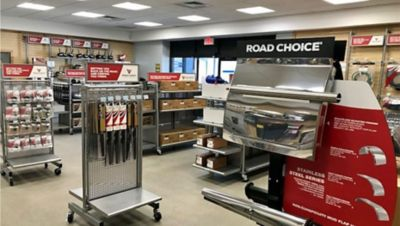 Road Choice®, a leading private label all-makes parts brand, today announced its first dedicated retail store is now open at Ballard Truck Center in Tewksbury, Massachusetts, serving the greater Boston area.