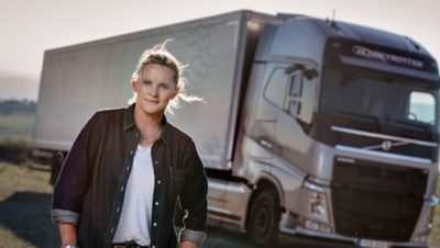 Woman in Transport - Louise Marriott from NZ